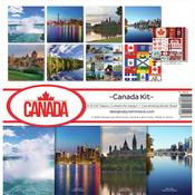 Canada 12 x 12 Reminisce Collection Kit - PRE ORDER