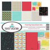 Family Vacation 12 x 12 Reminisce Collection Kit