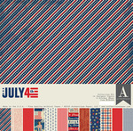4th Of July Collection Kit - Authentique - PRE ORDER