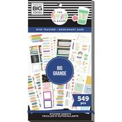 Wise Teacher Big - Happy Planner Sticker Value Pack