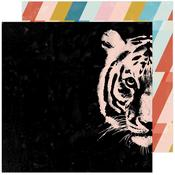 Hey Tiger Paper - Old School - Heidi Swapp