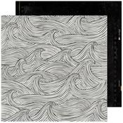 Making Waves Paper - Old School - Heidi Swapp