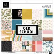 Old School 12x12 Paper Pad - Heidi Swapp