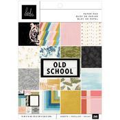Old School 6x8 Paper Pad - Heidi Swapp - PRE ORDER