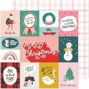 Oh What Fun Paper - Hey, Santa - Crate Paper