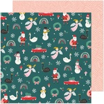 Christmas Magic Paper - Hey, Santa - Crate Paper