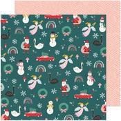 Christmas Magic Paper - Hey, Santa - Crate Paper