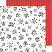 Sweet December Paper - Hey, Santa - Crate Paper