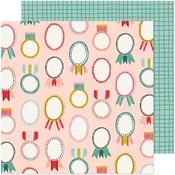 Merry & Bright Paper - Hey, Santa - Crate Paper