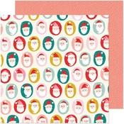 Ho Ho Ho Paper - Hey, Santa - Crate Paper - PRE ORDER