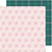 Peppermint Paper - Hey, Santa - Crate Paper