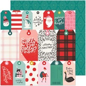 Be Jolly Paper - Hey, Santa - Crate Paper