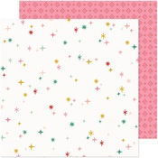 Wish List Paper - Hey, Santa - Crate Paper
