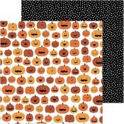 Pumpkin Carving Paper - Spoooky - Pebbles