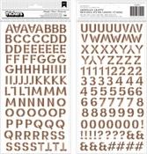 Spoooky Alphabet Thickers - Pebbles