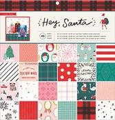 Hey, Santa 12 x 12 Paper Pad - Crate Paper - PRE ORDER
