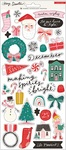 Hey, Santa 6 x 12 Sticker Sheet - Crate Paper