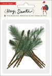 Hey, Santa Pine Branches - Crate Paper - PRE ORDER