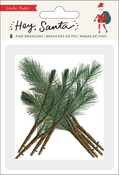 Hey, Santa Pine Branches - Crate Paper