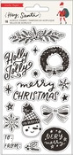Hey, Santa Acrylic Stamps - Crate Paper