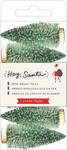 Hey, Santa Green Bottle Brush Trees - Crate Paper