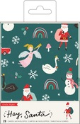 Hey, Santa Boxed Cards - Crate Paper - PRE ORDER