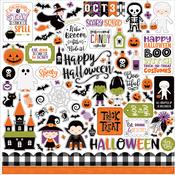 I Love Halloween Element Sticker - Echo Park