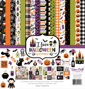 I Love Halloween Collection Kit - Echo Park