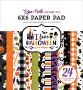 I Love Halloween 6x6 Paper Pad - Echo Park - PRE ORDER