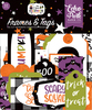 I Love Halloween Frames & Tags - Echo Park Frames & Tags Ephemera Cardstock Die-Cuts. Perfect for all your paper crafting needs! Acid and lignin free.