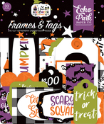 I Love Halloween Frames & Tags - Echo Park