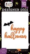 Happy Halloween Bat Die Set - I Love Halloween - Echo Park - PRE ORDER