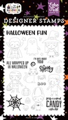 Too Cute To Spook Stamp Set - I Love Halloween - Echo Park
