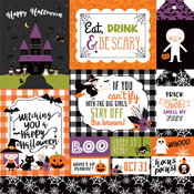 Multi Journaling Cards Paper - I Love Halloween - Echo Park