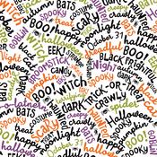 Happy Halloween Paper - I Love Halloween - Echo Park - PRE ORDER