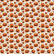Pumpkin Pals Paper - I Love Halloween - Echo Park - PRE ORDER