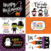 6X4 Journaling Cards Paper - I Love Halloween - Echo Park