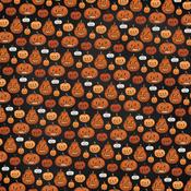 Pumpkins Paper - Halloween Market - Carta Bella