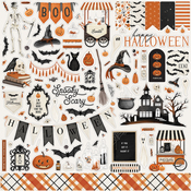 Halloween Market Element Sticker - Carta Bella