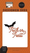 Bat Trick or Treat Die Set - Halloween Market - Carta Bella