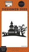 Haunted House Silhouette Die Set - Halloween Market - Carta Bella