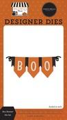 Boo Banner Die Set - Halloween Market - Carta Bella
