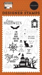 Haunted Night Stamp Set - Halloween Market - Carta Bella