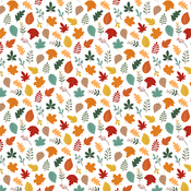 Welcome Fall Paper - Happy Fall - Echo Park