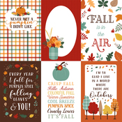 4X6 Journaling Cards Paper - Happy Fall - Echo Park