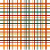 Fall Picnic Plaid Paper - Happy Fall - Echo Park