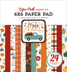Happy Fall 6x6 Paper Pad - Echo Park - PRE ORDER