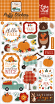 Happy Fall Puffy Stickers - Echo Park