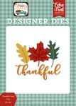 Thankful Leaf Trio Die Set - Happy Fall - Echo Park