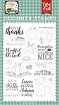 Give Thanks Stamp Set - Happy Fall - Echo Park - PRE ORDER